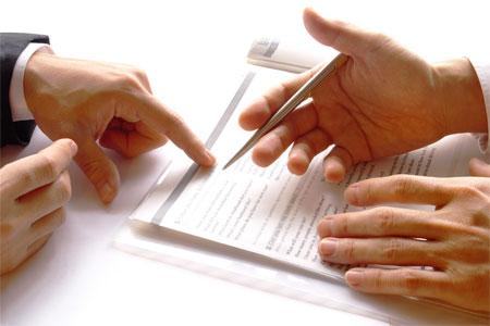 Điều khoản về hợp đồng thương mại